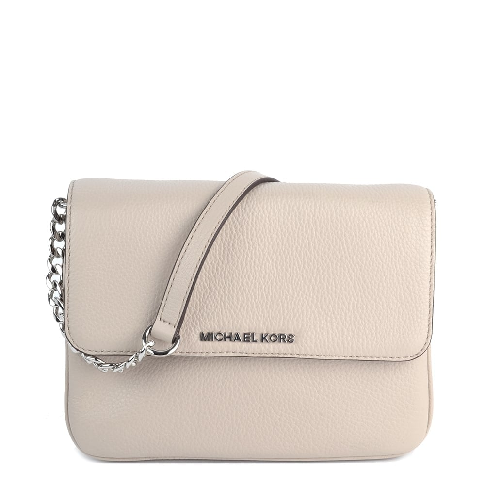 dccf1ad3c4dd55 MICHAEL by Michael Kors Bedford Cement Double Gusset Cross Body Bag