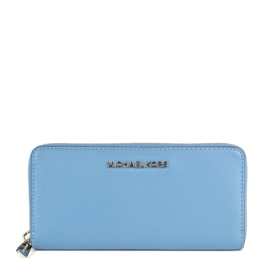 cb59ff5bc6ed83 ... MICHAEL by Michael Kors Bedford Sky Leather Continental Wallet ...