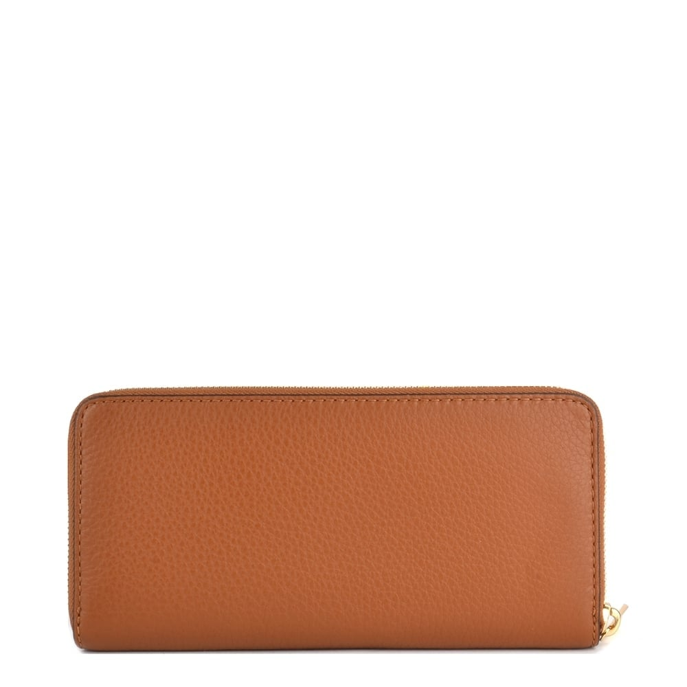cd369809173 MICHAEL by Michael Kors Bedford Tan Leather Continental Wallet