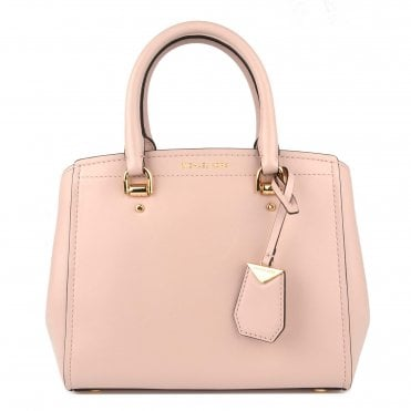 Benning Soft Pink Medium Leather Messenger