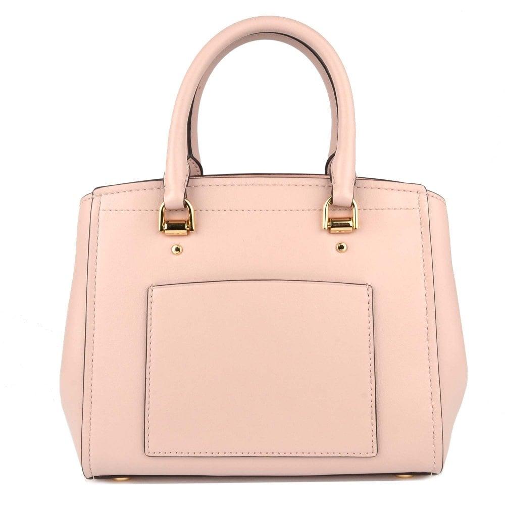 5b5d3b78dc0c MICHAEL MICHAEL KORS Benning Soft Pink Medium Leather Messenger