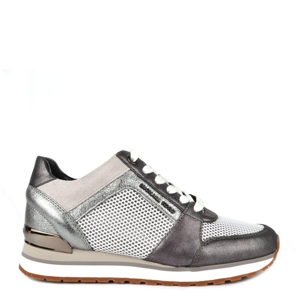 michael michael kors billie trainer lace up sneakers