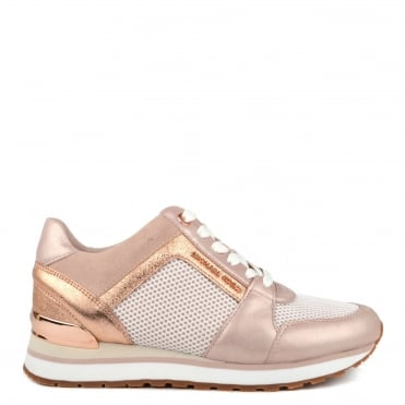 Billie Soft Pink and Mesh Trainer