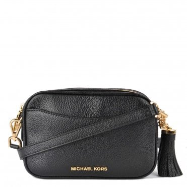 b6a8dc0529c7 Black Pebbled Leather Camera Bag. MICHAEL by Michael Kors ...