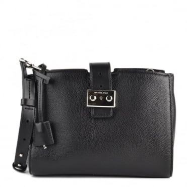 Bond Black Medium Messenger