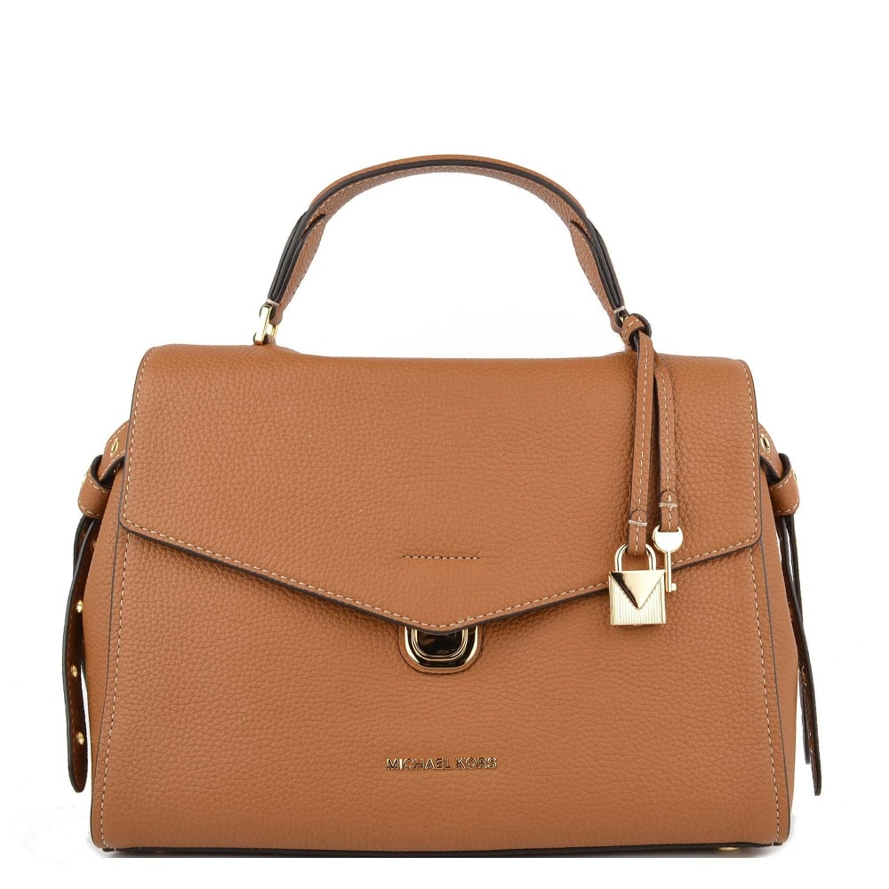 41d1f63eb6c3 MICHAEL by Michael Kors Bristol Acorn Leather Medium Satchel