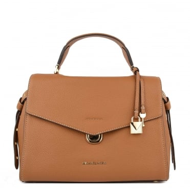 Bristol Acorn Leather Medium Satchel