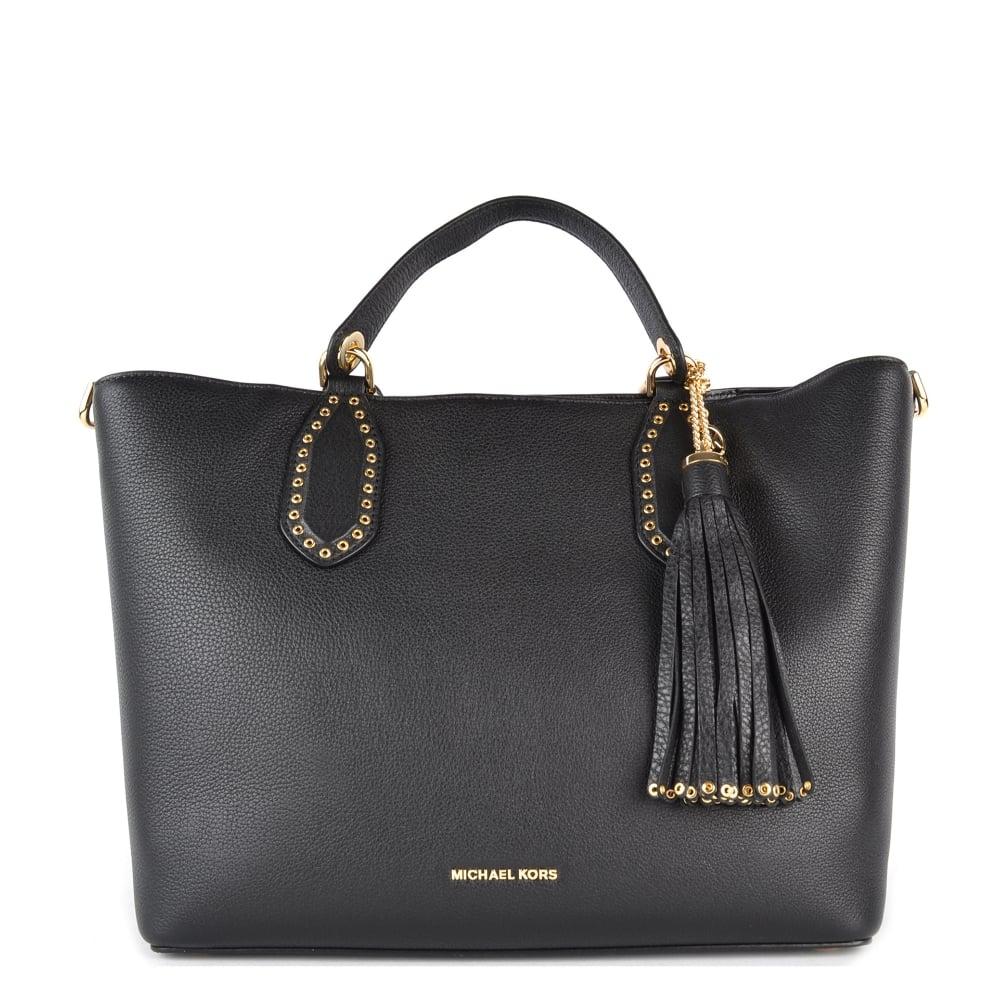 Michael Michael Kors Brooklyn Black Large Grab Bag