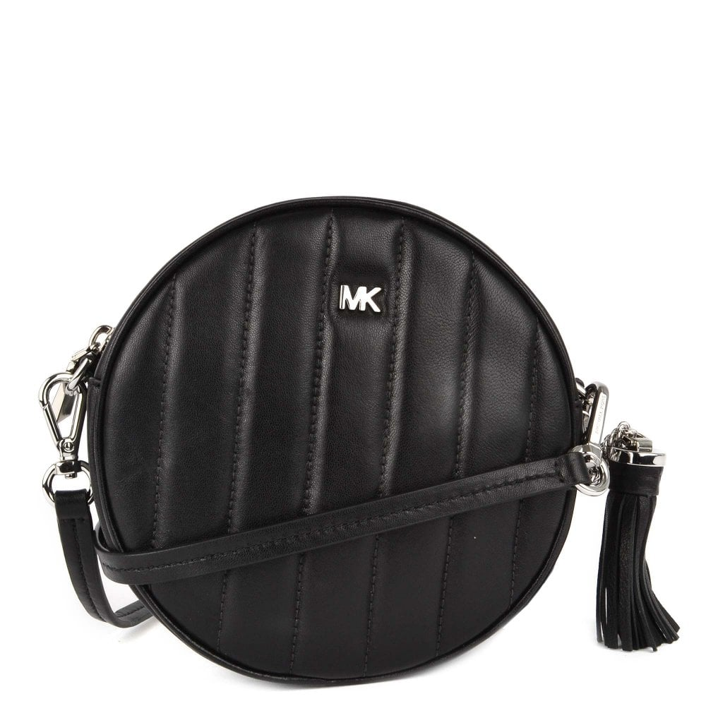 31de21e3975a MICHAEL by Michael Kors Canteen Quilted Medium Leather Crossbody Bag