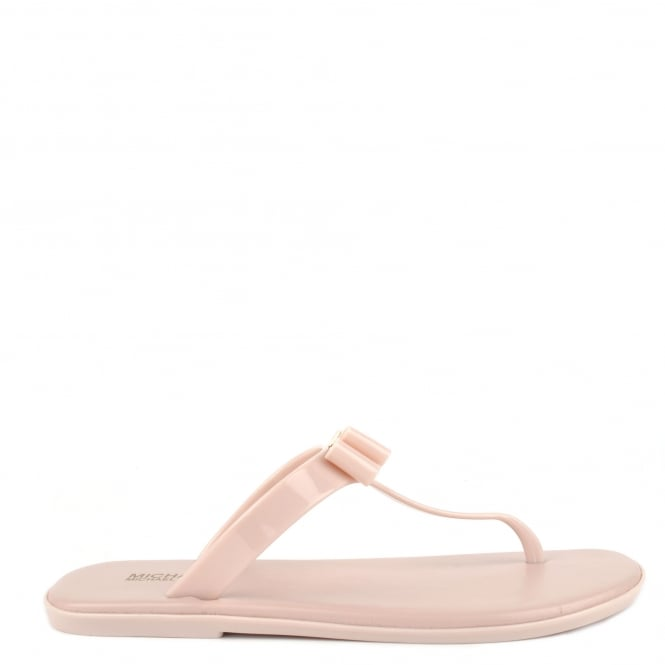 MICHAEL by Michael Kors Caroline Soft Pink Thong Jelly Sandal
