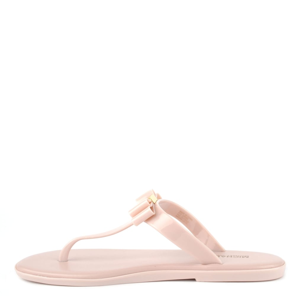 325546cd9 MICHAEL Michael Kors Caroline Soft Pink Thong Jelly Sandal