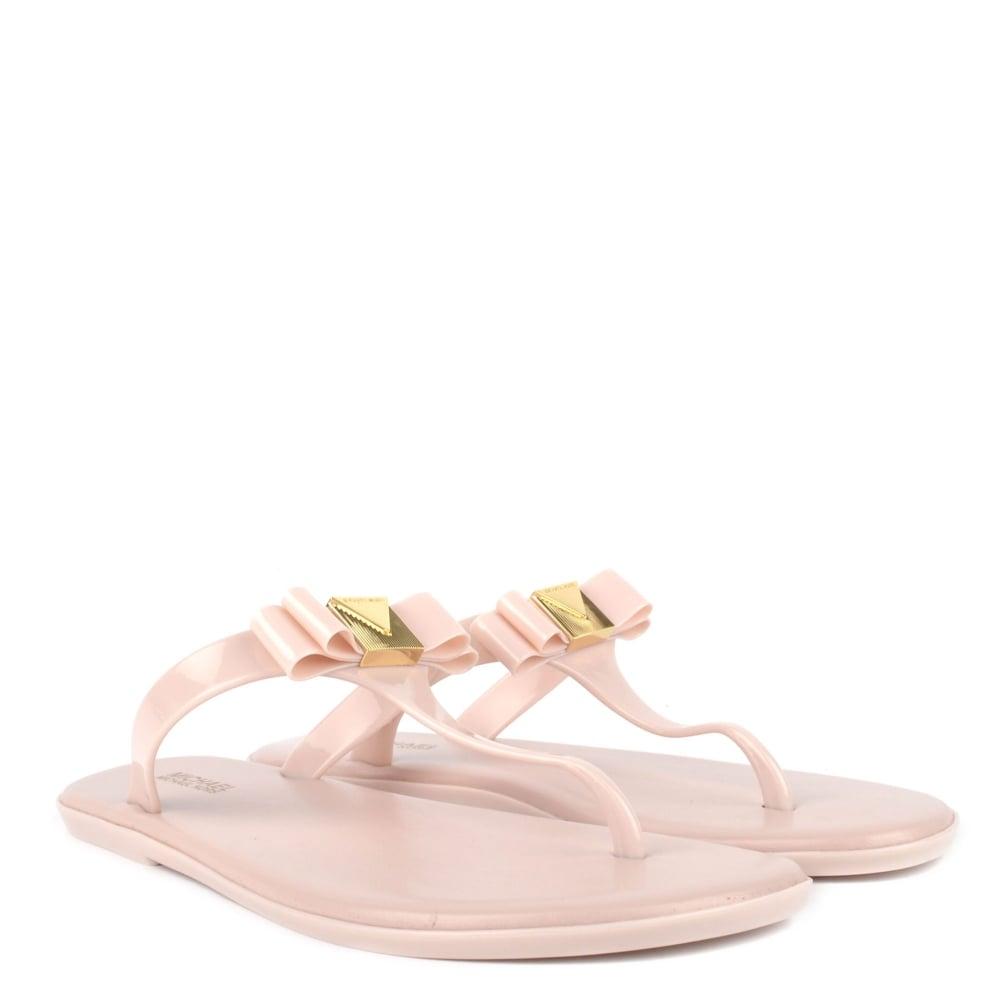 865c18cea386 MICHAEL Michael Kors Caroline Soft Pink Thong Jelly Sandal