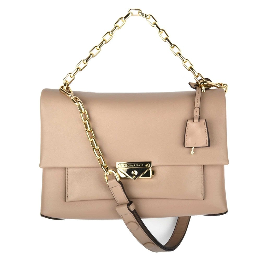 cc99dbb2b9bd8f MICHAEL by Michael Kors Cece Truffle Large Chain Shoulder Bag