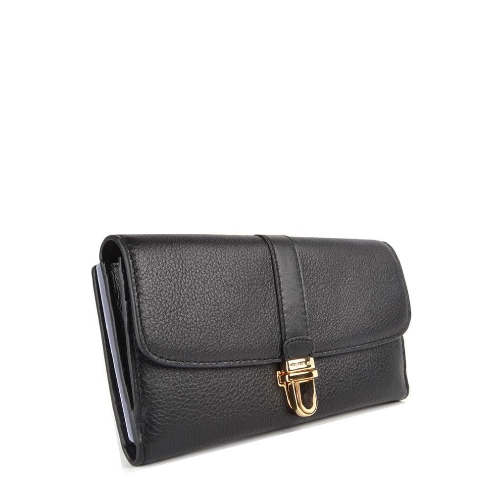 4f7b34fe3f9d MICHAEL Michael Kors Charlton Black Flap Wallet