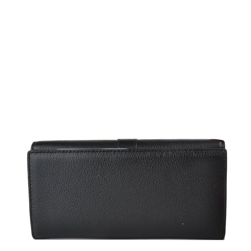 6f9df9ad05ed MICHAEL by Michael Kors Charlton Black Flap Wallet
