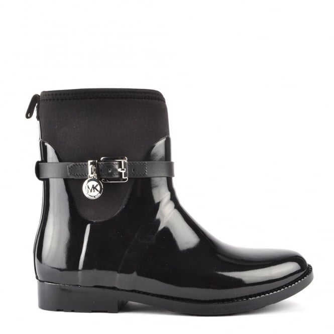 MICHAEL by Michael Kors Charm 'Black' Stretch Rain Boot