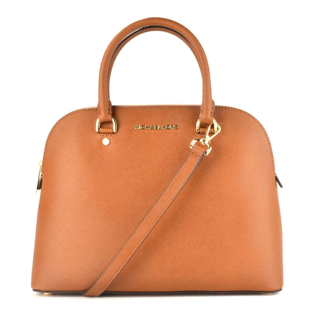af185b7bebf3 MICHAEL by Michael Kors Cindy Dome Large Tan Tote - Women from Brand ...