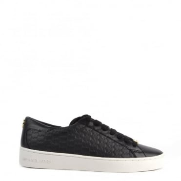 Colby Black Embossed Trainer