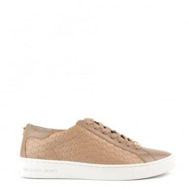 Colby Dark Khaki Embossed Trainer
