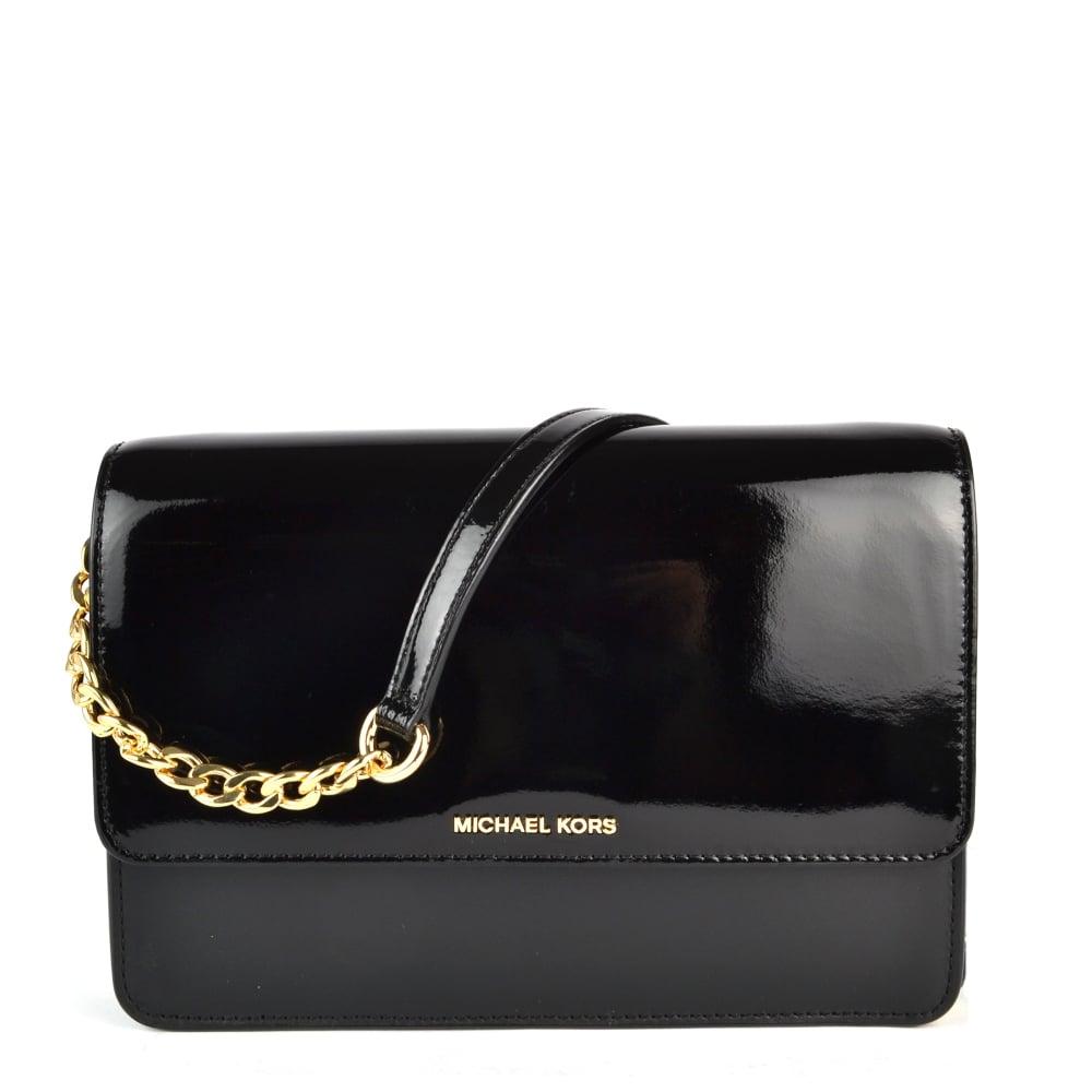 Daniela Black Large Crossbody Bag