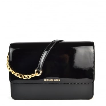 Daniela Black Large Crossbody Bag