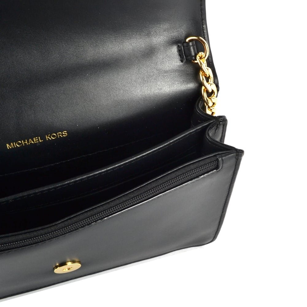 bd4ea0bba719 MICHAEL MICHAEL KORS Daniela Black Large Crossbody Bag