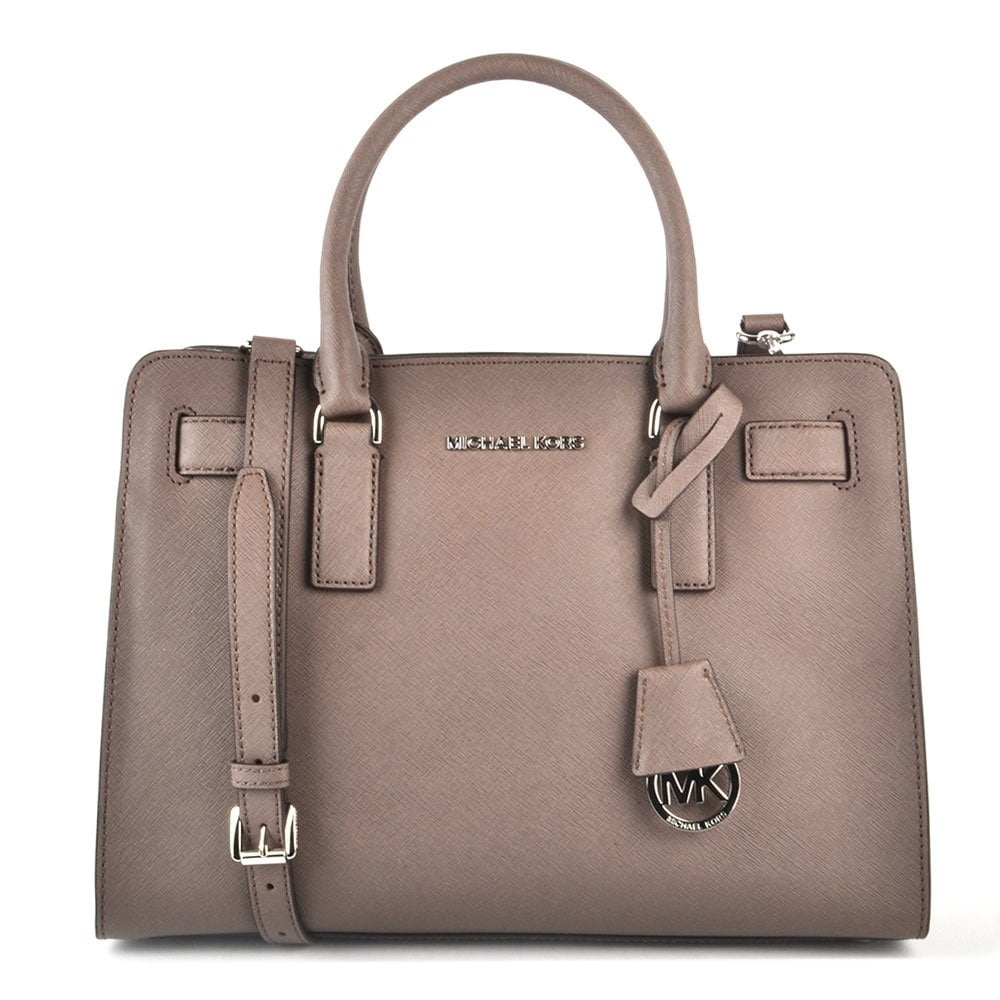 9b0c29811719 MICHAEL by Michael Kors Dillon Cinder Leather Satchel - Women from ...