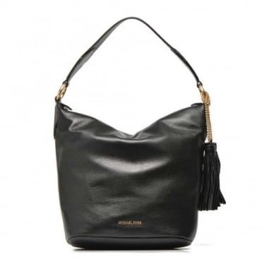Elana Black Large Convertible Shoulder Bag