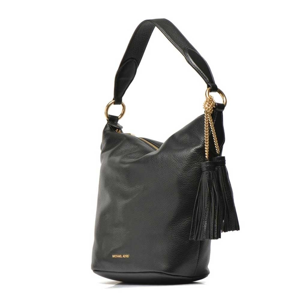 Elana Black Large Convertible Shoulder Bag