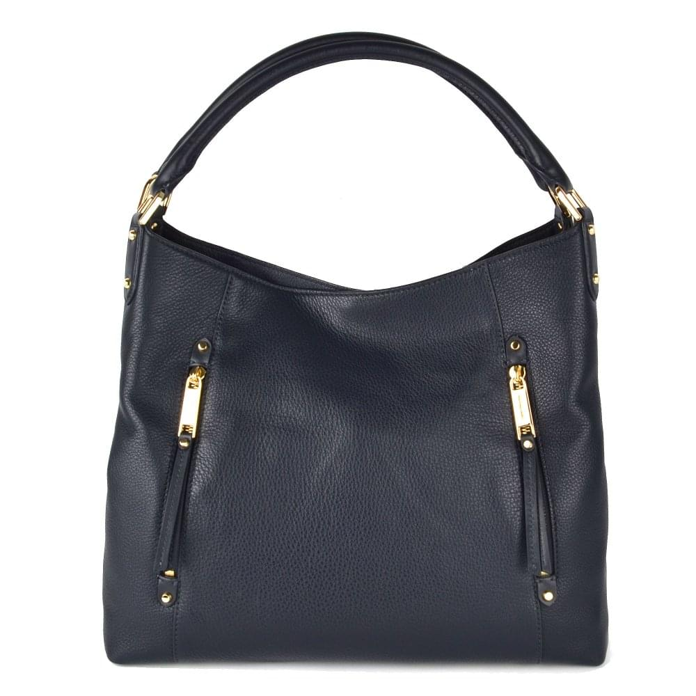 d12365ac35fd MICHAEL MICHAEL KORS Evie Admiral Leather Large Shoulder Tote