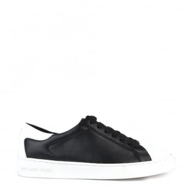 Frankie Black Optic White Trainer