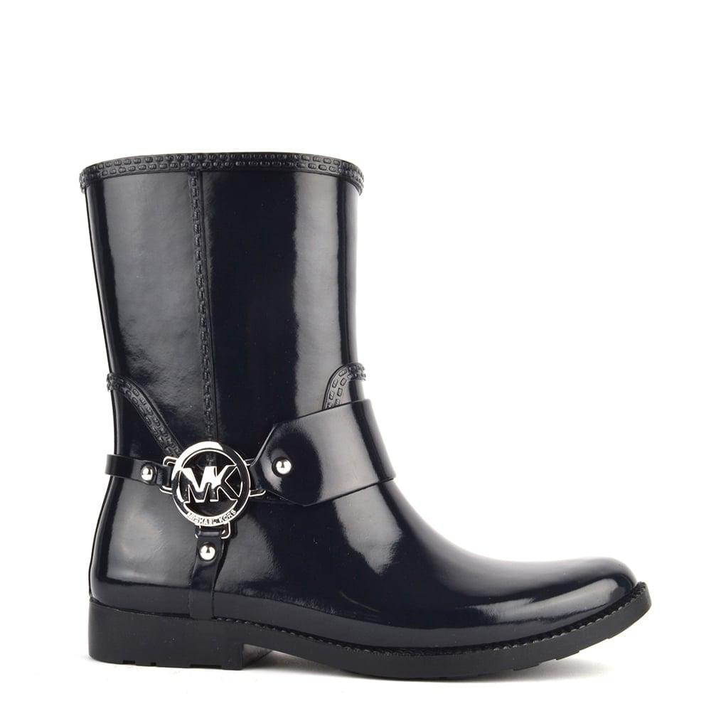 Michael Kors Fulton Harness Admiral Dark Navy Ankle Rain