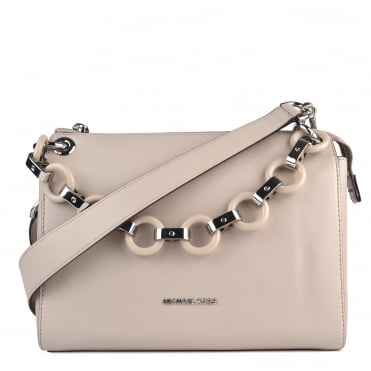 Gianna Cement Grey Shoulder Bag