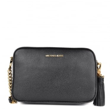 Ginny Black Medium Camera Bag