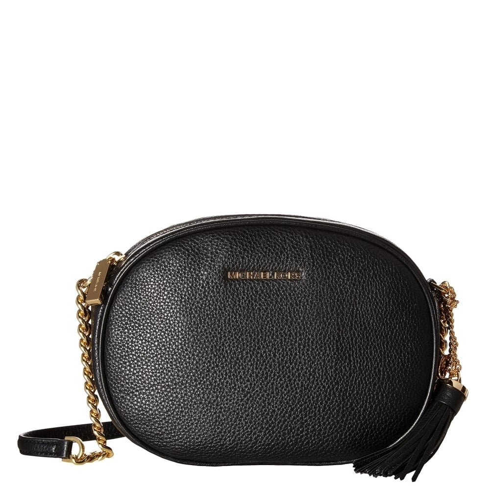 b2a53d8e5 MICHAEL by Michael Kors Ginny Black Medium Crossbody