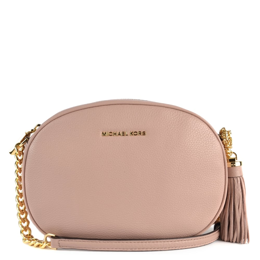 956c21028 MICHAEL by Michael Kors Ginny Fawn 'Pink' Medium Crossbody
