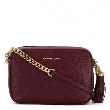 2c70ff784695 Ginny Oxblood Medium Camera Bag. MICHAEL by Michael Kors ...
