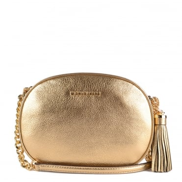 Ginny Pale Gold Medium Crossbody