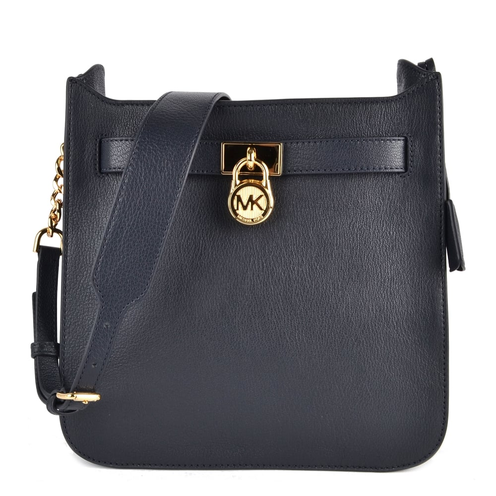 87c94c931726 MICHAEL by Michael Kors Hamilton Admiral 'Navy' Medium Messenger