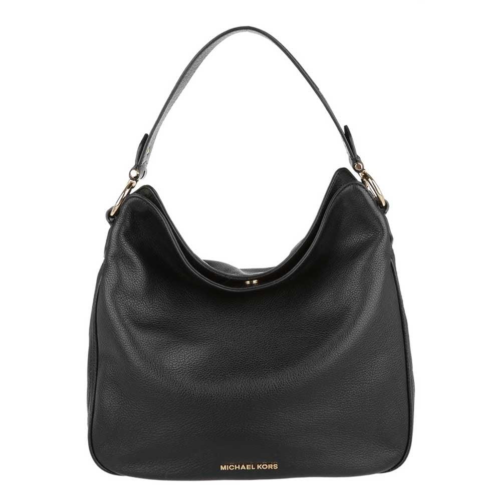 Heidi Black Medium Shoulder Bag