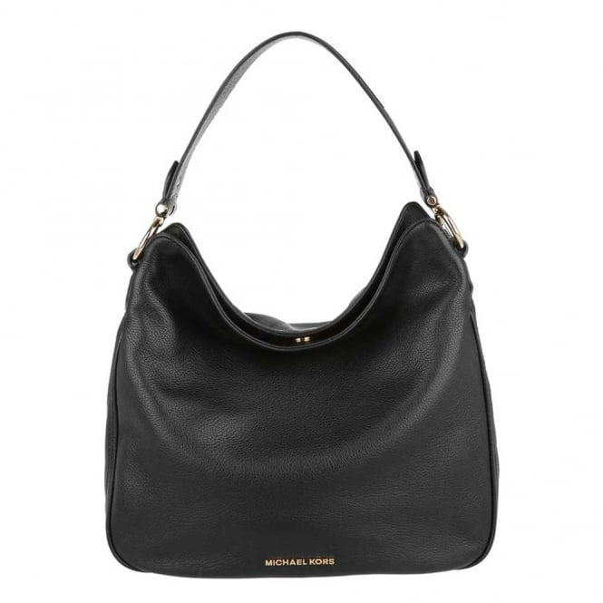 MICHAEL by Michael Kors Heidi Black Medium Shoulder Bag