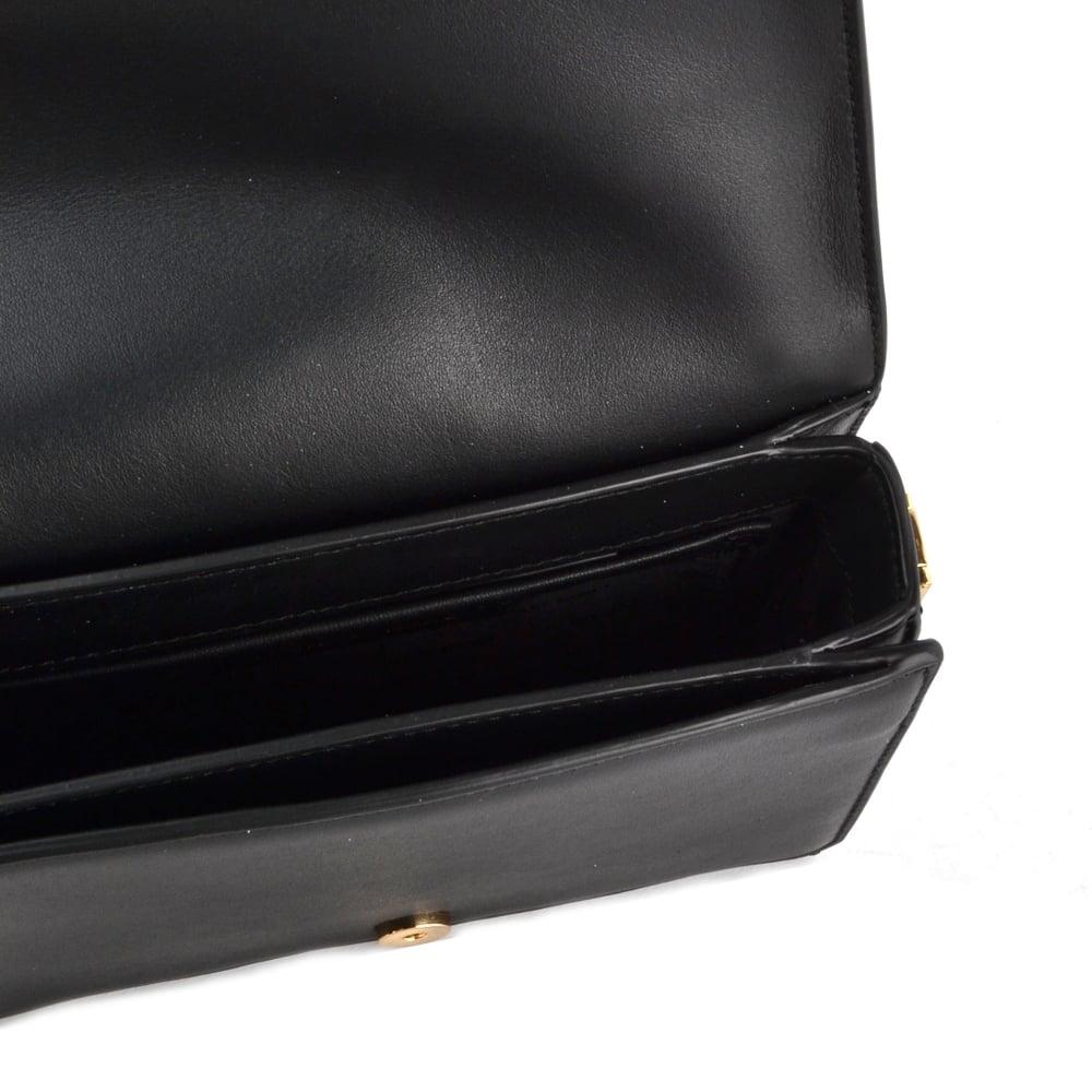 0d655c81bb MICHAEL MICHAEL KORS Jade Black Embellished Medium Leather Clutch Bag