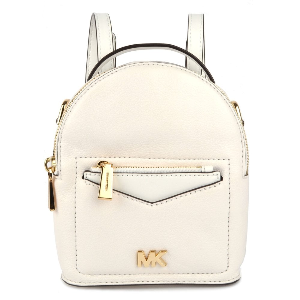 9d53c008bd32 MICHAEL by Michael Kors Jessa Extra Small Optic White Convertible Backpack