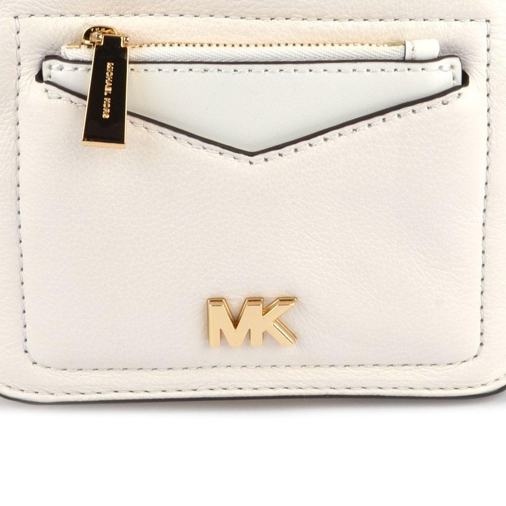82fb44bae593 MICHAEL MICHAEL KORS Jessa Extra Small Optic White Convertible Backpack