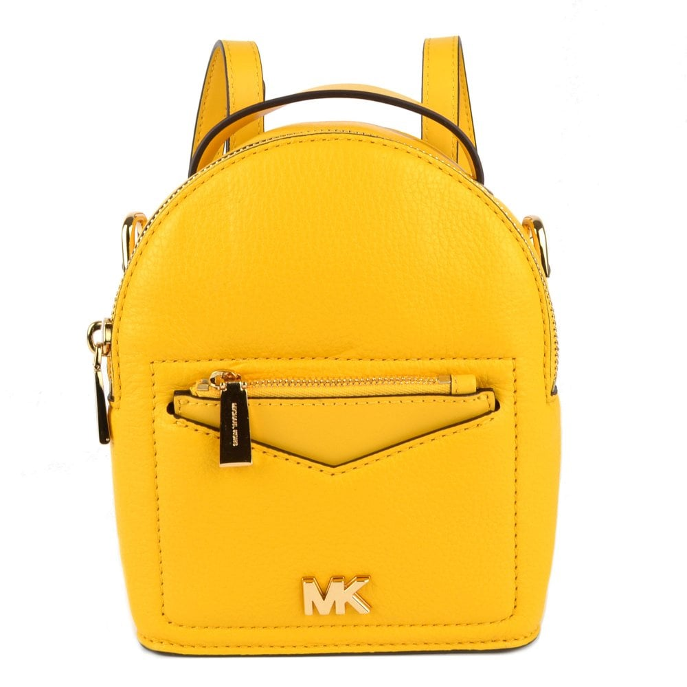 MICHAEL by Michael Kors Jessa Extra Small Sunflower Convertible Backpack 9d27ef74b3717