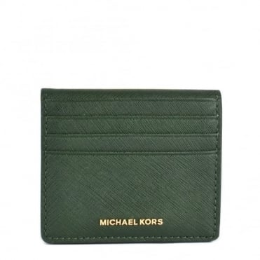 Jet Set Billford Moss 'Green' Card Case Wallet