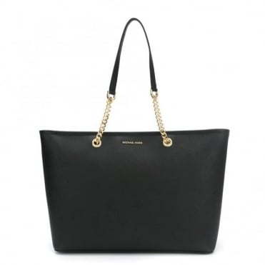Jet Set Chain Black Multi Functional Tote
