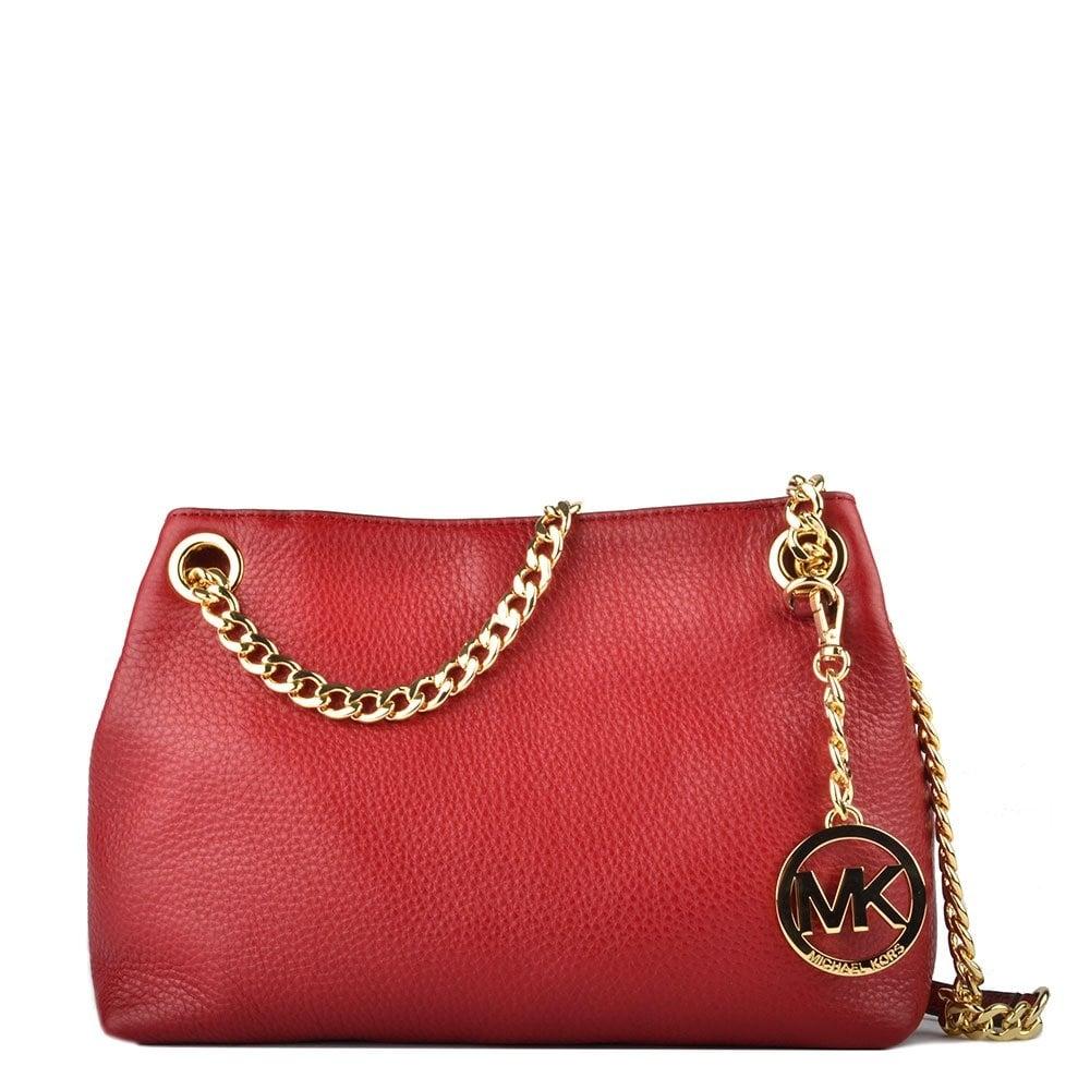 f19f2f22941f MICHAEL by Michael Kors Jet Set Chain Cherry Shoulder Bag - Women ...