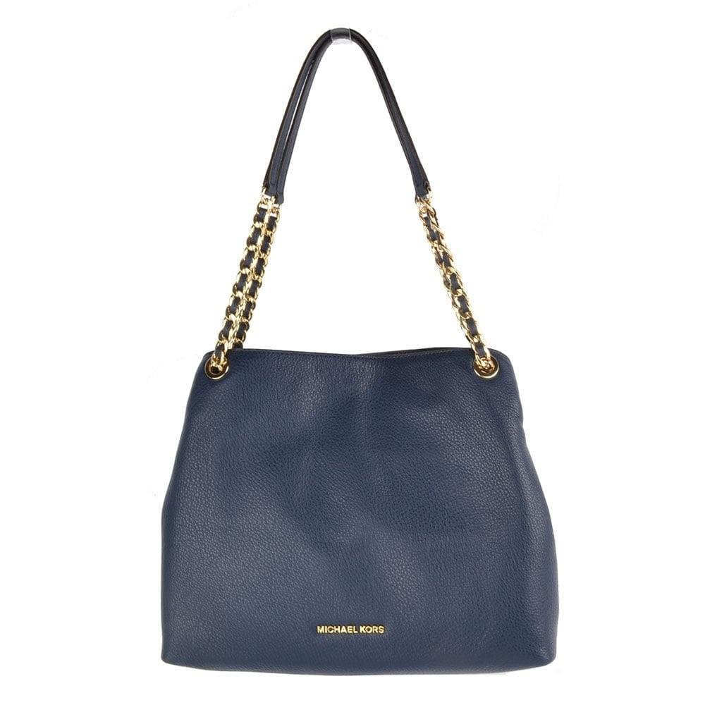 Michael Kors Jet Set Travel Medium Tote Bag Navy