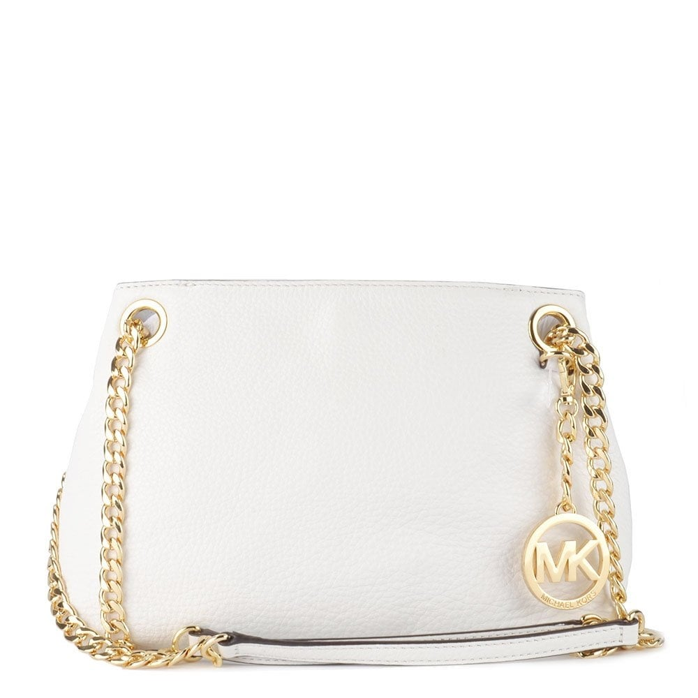 Jet Set Chain White Shoulder Bag